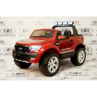 Электромобиль RiverToys NEW Ford Ranger 4WD - Красный