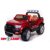 Электромобиль Toy Land Ford Ranger 2017 NEW 4X4 - Красный