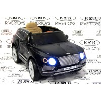 Электромобиль River Toys Bentley Bentayga - Черный