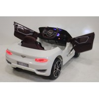 Электромобиль RiverToys BENTLEY-EXP12 - Белый