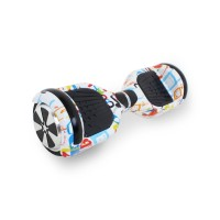 Гироскутер Hoverbot A-3 LIGHT LED - White Multicolor