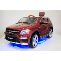 Электромобиль RiverToys Mercedes-Benz GL63 A999AA (4*4) - Красный