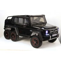 Электромобиль RiverToys Mercedes-Benz G63-AMG 4WD X555XX - Черный глянец