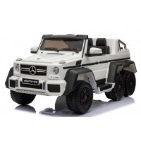 Электромобиль RiverToys Mercedes-Benz G63-AMG 4WD A006AA - Белый