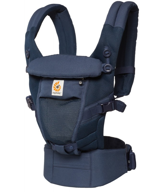 Рюкзак-кенгуру ErgoBaby Adapt - Navy Mini Dots