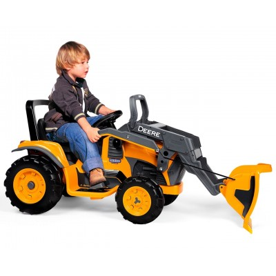Детский электромобиль Peg Perego John Deere Construction Loader