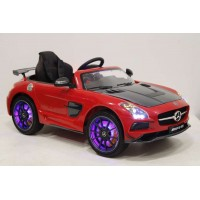 Электромобиль RiverToys Mercedes-Benz SLS A333AA VIP CARBON - Красный