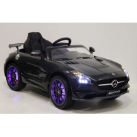 Электромобиль RiverToys Mercedes-Benz SLS A333AA VIP CARBON - Черный
