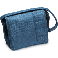 Сумка для коляски Moon Messenger Bag - Blue Panama