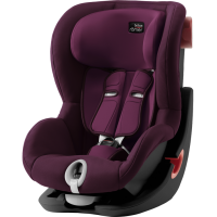 Автокресло Britax Roemer King II - Black Series Burgundy Red