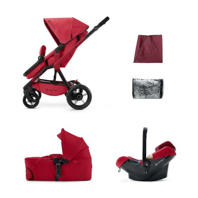 Коляска 3 в 1 Concord Wanderer Mobility Set -  Ruby Red