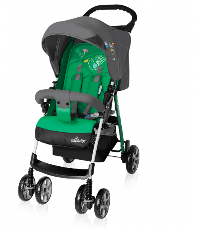Коляска Baby Design MINI NEW 04 GREEN