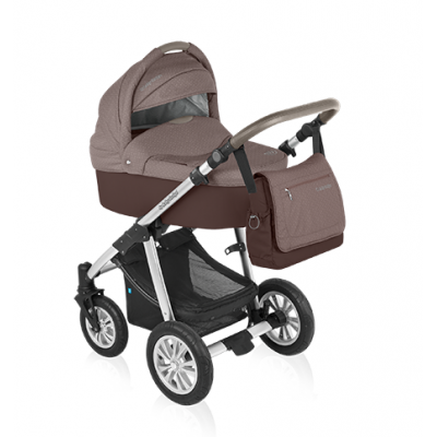 Коляска BABY DESIGN DOTTY 2 в 1 - 19 BROWN