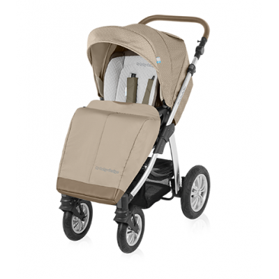 Коляска 2 в 1 Baby Design DOTTY - 09 BEIGE