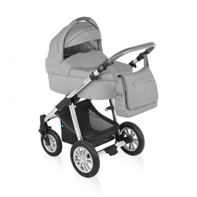 Коляска 2 в 1 Baby Design DOTTY ECO - 07 GRAY