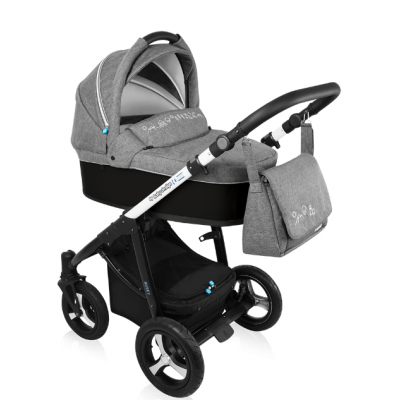 Коляска 2 в 1 Baby Design HUSKY WP NEW - 10 BLACK