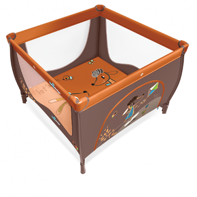 Манеж Baby Design Play NEW 01 ORANGE