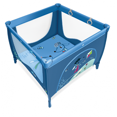 Манеж Baby Design Play Up - 03 BLUE