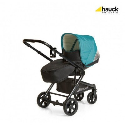 Коляска Hauck Atlantic Plus Trioset 3 в 1- everglade