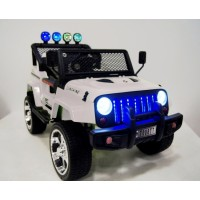 Электромобиль RiverToys  Jeep T008TT 4*4  - Белый