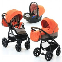 Коляска 3 в 1 NOORDI Sole Sport - 862 Orange Red