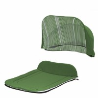 Капор + накидка Seed Papilio Carry Cot - Garden Green