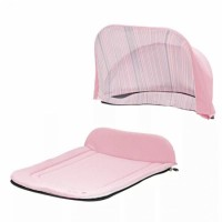Капор + накидка Seed Papilio Carry Cot -  Baby Rose