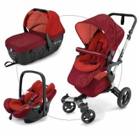 Детская коляска 3 в 1 Concord Neo Travel Set -  Flaming Red