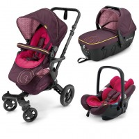 Детская коляска 3 в 1 Concord Neo Travel Set - Rose Pink