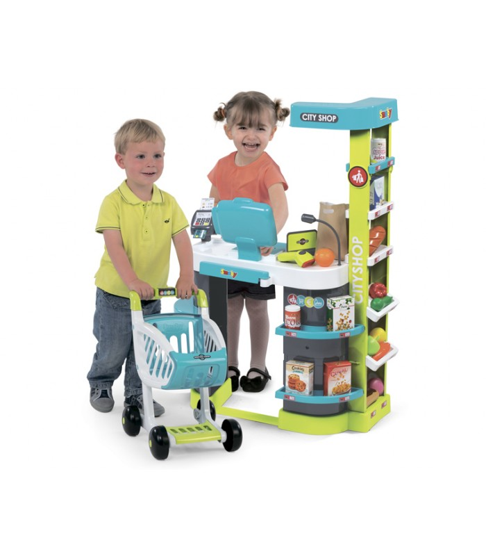 Супермаркет игровой Smoby City Shop - Синий