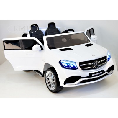 Электромобиль RiverToys Mercedes-Benz GLS63-AMG 4WD - Белый