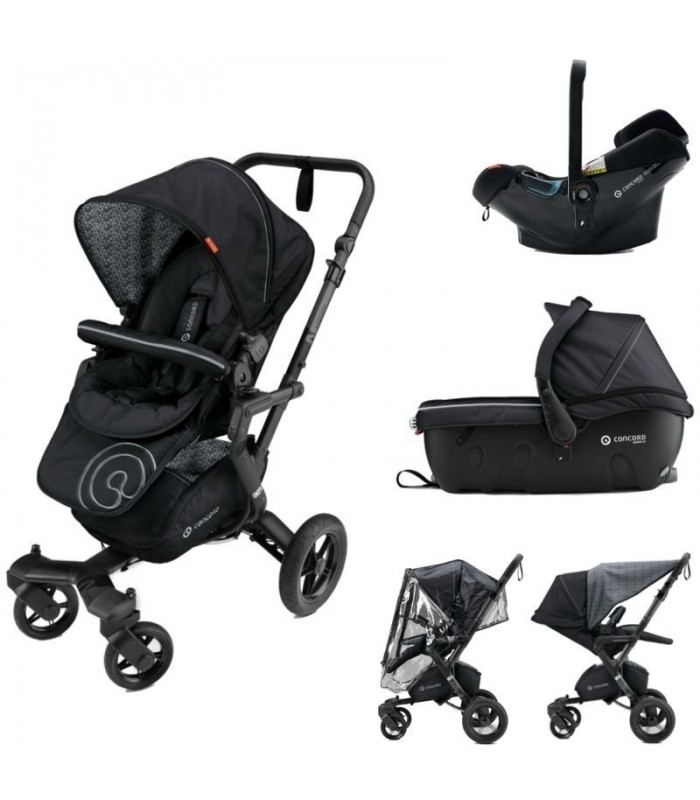 Детская коляска 3 в 1 Concord Neo Travel Set - Midnight Black