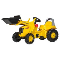 Педальный трактор Rolly Toys Rollykid New Holland Construct 025053