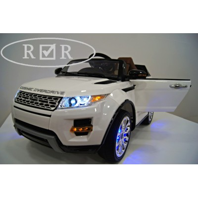 Электромобиль RiverToys Range Rover A111AA VIP - Белый